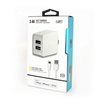 Additional Images for LBT APPLE APPROVED LIGHTNING 2 PORT(2.4 AMP + 1.0 AMP) 3.1 AMP 5 FEET CABLE TRA.