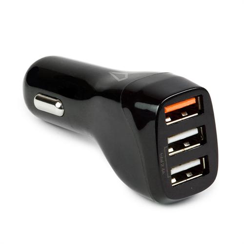 LBT QC3.0 18W 3 PORTS USB CAR CHARGER