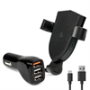 Additional Images for LBT 15 WATTS CAR WIRELESS CHARGER WITH 3 PORT ADAPTER